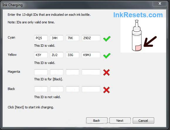 FREE Ink Reset Codes for Epson L100, L200, L800 - enjoy!